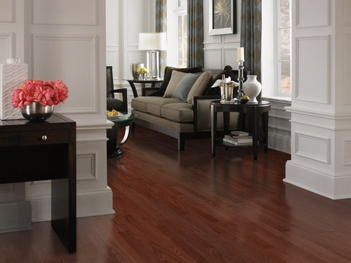 red oak floor