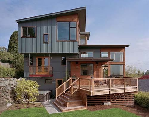 The most popular styles of split level house plans home Rustic contemporary house plans