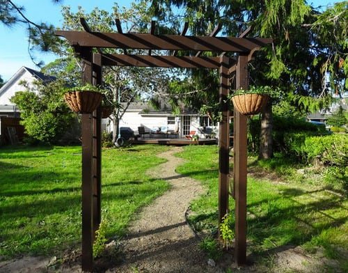 The Basics DIY Project for Garden Arbor Designs
