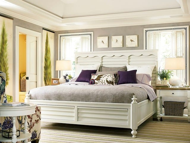 Better Homes and Gardens American Cottage Shutter Bedroom Decor in Gardenia bedroom furniture sets