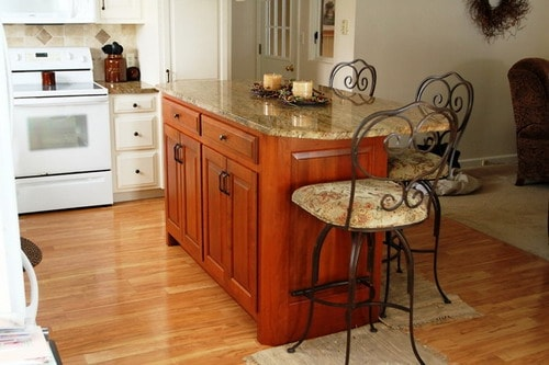 Kitchen Islands with Breakfast Bar and Stools