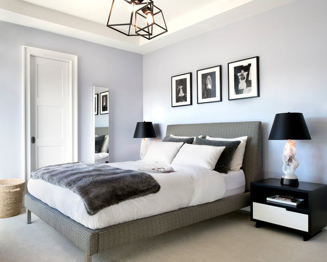 DC Condo Guest Bedroom Decor transitional bedroom furniture design