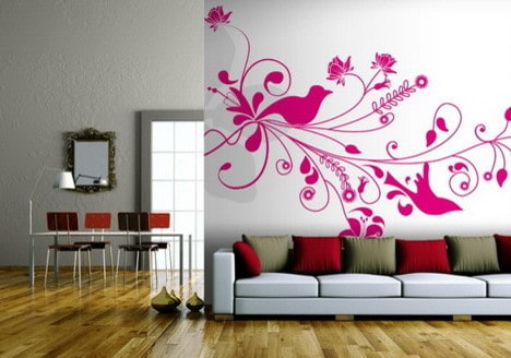 best living room wallpaper