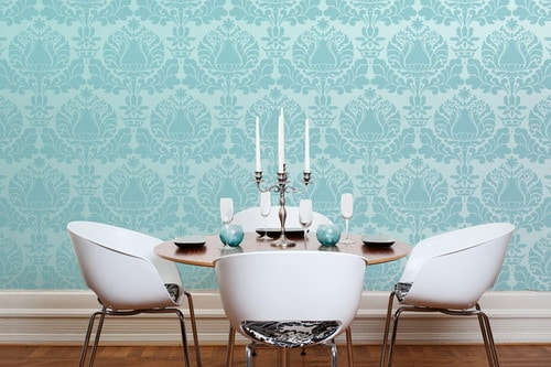 How to Enliven Your Room with Unique Damask Wall Stencils