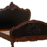 Luxury French Style Carved Bed Frame