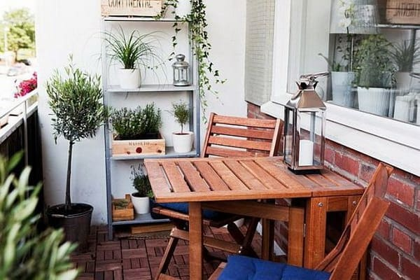 Decorating Ideas for Apartment Balcony