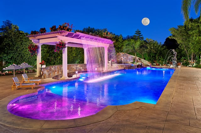 How to choose the best fiber optic pool lights home for Pool garden resort argao