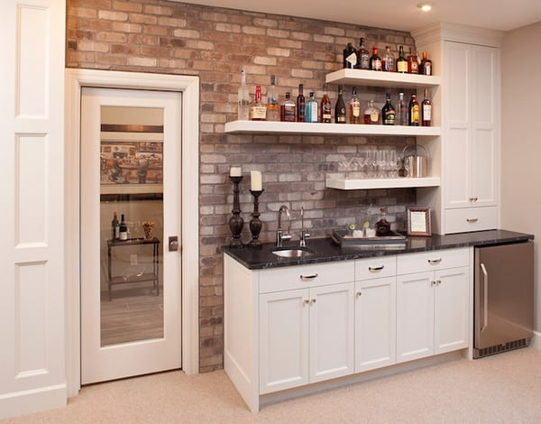 Decorating Ideas for Home Wet Bars