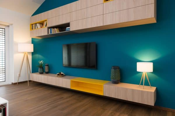 How to match wall color with wood floor