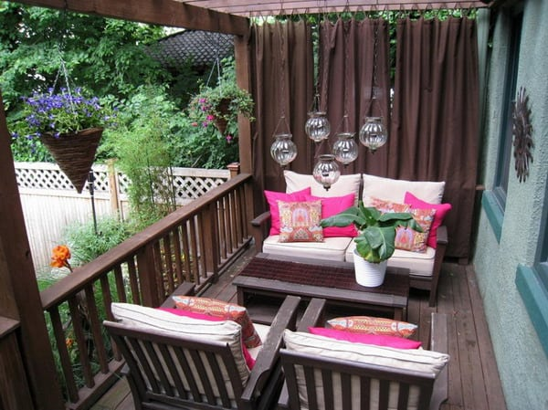 Wonderful Decorating Ideas For Apartment Balcony Home