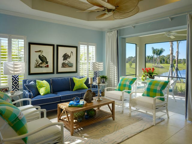 Tropical Style Living Room