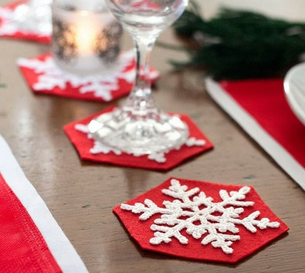 DIY Table Decorations for Christmas