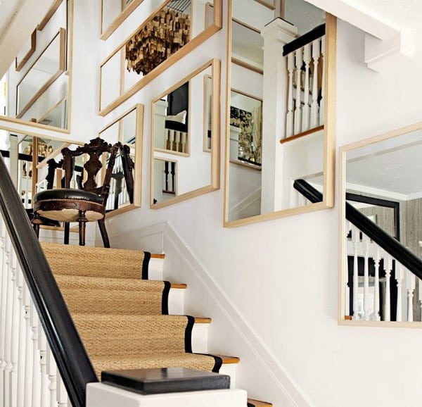 Stairwell Wall Design Ideas