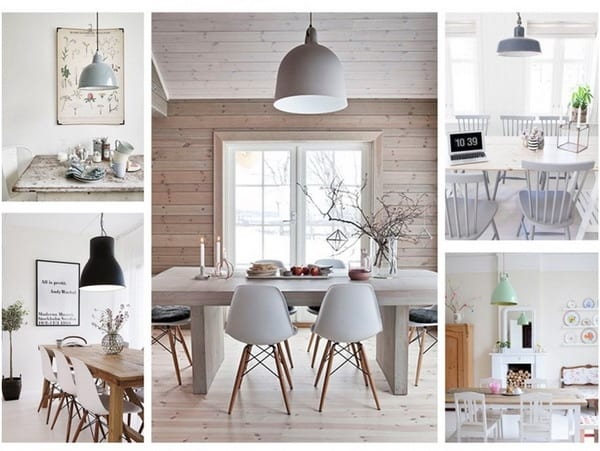 Industrial styles nordic lamps