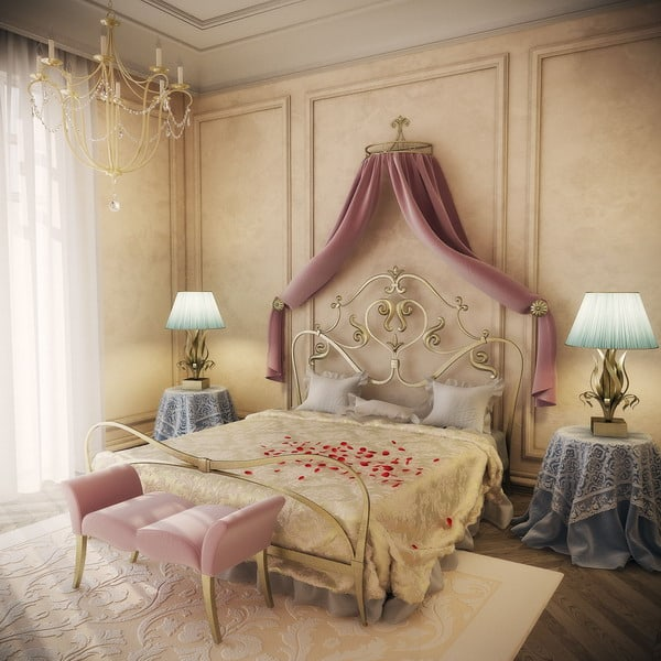 6 Tips for a Vintage Romantic Interior Decoration in the ...
