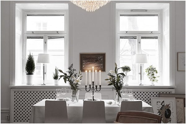 Romantic Nordic style decor