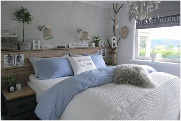 Small bedroom nordic style interior decor