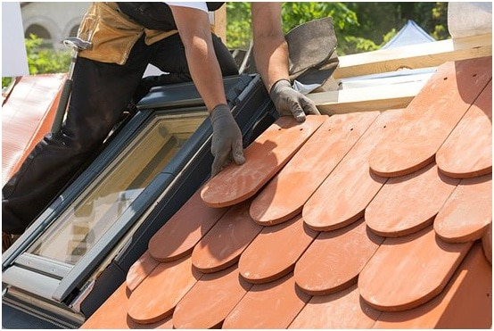 buying roof tiles