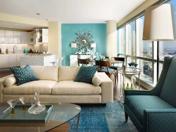 Living room modern style current trendy design trends