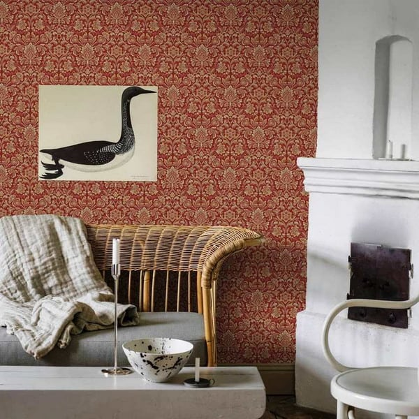 Modern Wallpaper classic monograms design trends 16