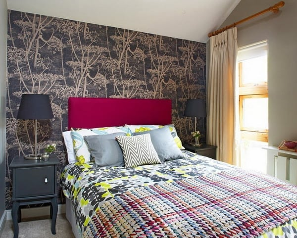 Modern Wallpaper classic monograms design trends 5