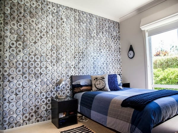 Wallpaper trends for bedroom decorating design 28