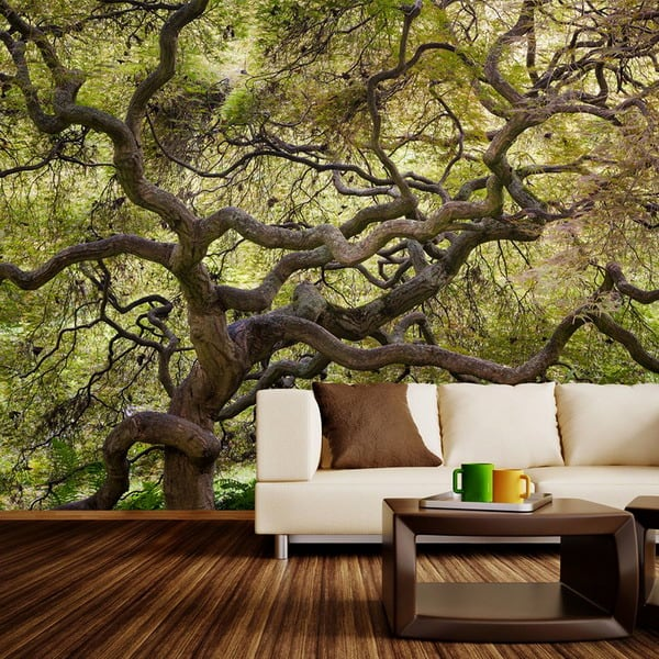 spectacular wallpaper trends for living room 4