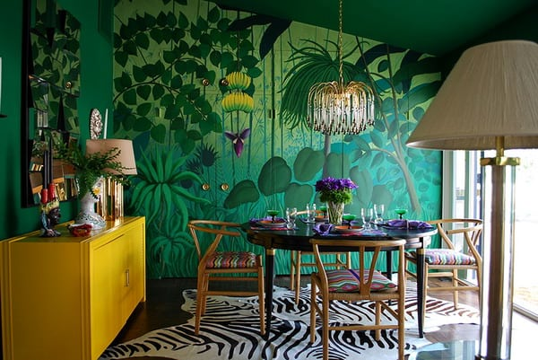 spectacular wallpaper trends for living room 9