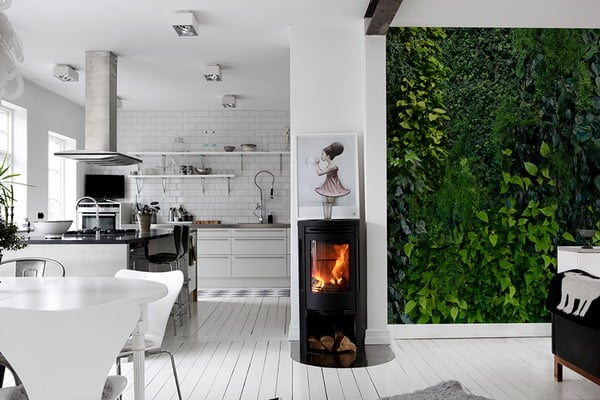 Kitchen wall murals interior moody room photos 8