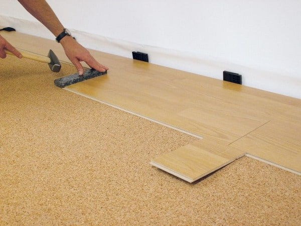 types properties technical characteristics substrate under laminate